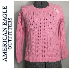 American Eagle Soft Cable Knit Sweater/